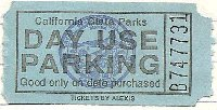 Parking ticket for Leo Carrillo.