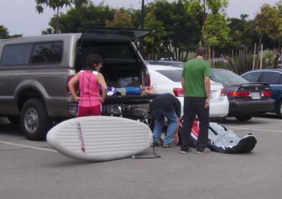 Inflatable Surf Boards.