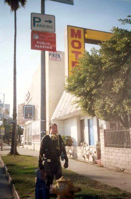 Me on Sunset Blvd in full SCUBA gear… nobody even looked.