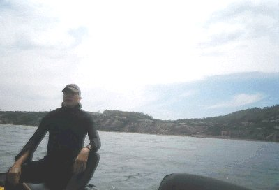 Ron off of Malaga Cove.