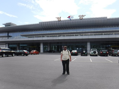Arrival At Pyongyang International Airport