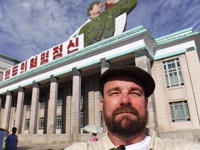 Me in Pyongyang