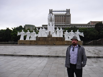 Me in Pyongyang - forgot what this is.