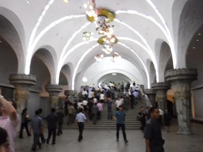 Pyongyang Metro.