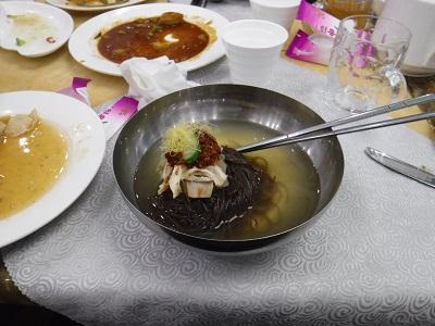 Buckwheat Black Noodle Soup
