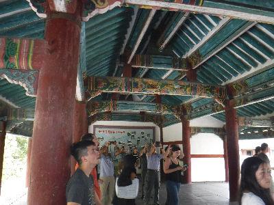 Buddhist monastery in Kaesong