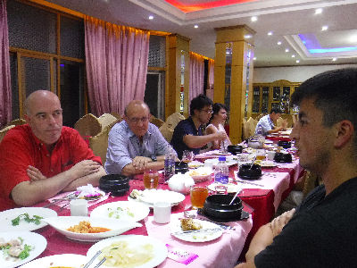 The last meal in the DPRK.