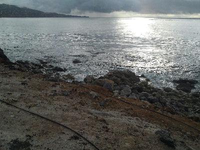 Calm seas at Terranea Resort.