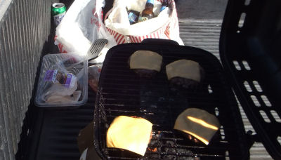 The ghetto grill!