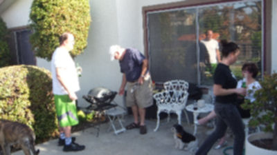 Family Barbecue.
