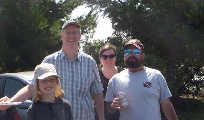 Ben, Nick, Jill and Me.