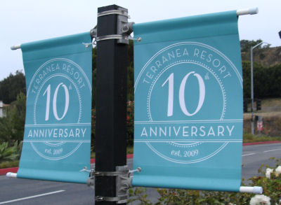 It is Terranea's 10th year anniversary.