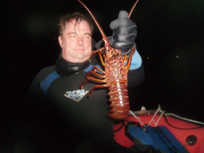 My first lobster of the season!