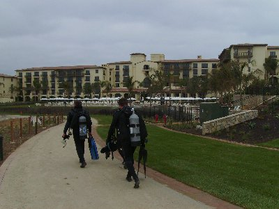 Terranea Resort is near completion.