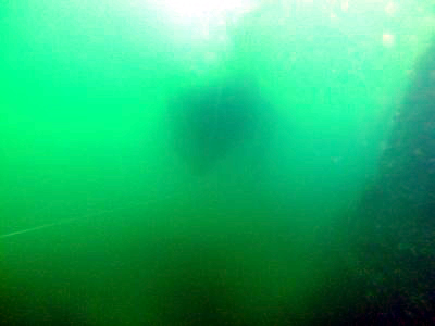 At a depth of 70 feet, my camera housing fogged up again.
