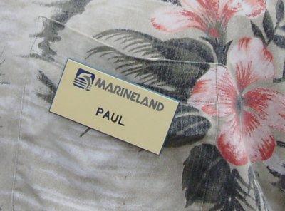 An old Marineland employee badge.