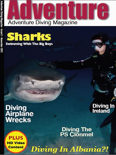 Adventure Diving Magazine - November 2012 Issue