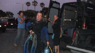Another successful dive, and this one in a dry suit.