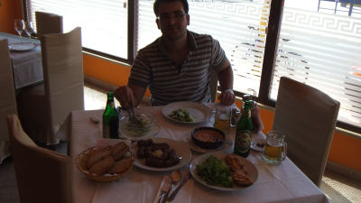 Albanian food.