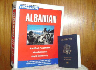 I received my passport last week, and have ordered an Essential Albanian course.