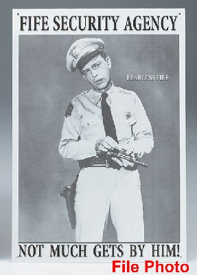 Barney Fife Security Agency.