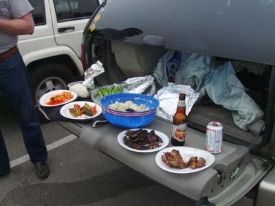 A gourmet buffet!