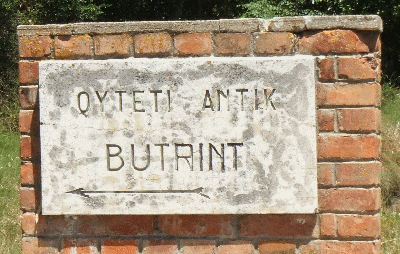 The entrance to Butrint