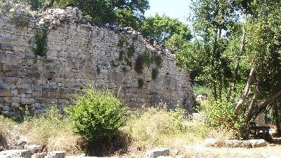 Butrint Wall