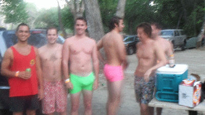 Gay campers or playing mind games?