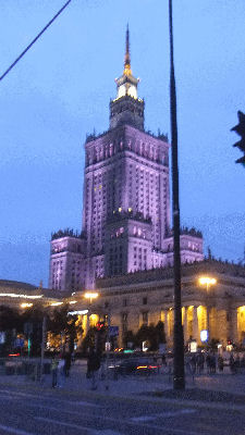 Downtown Warsaw