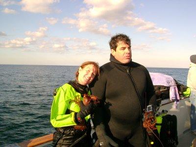Shanon W. the diver.