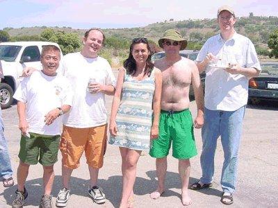 Ed, Paul, Jane, Me and Nick.