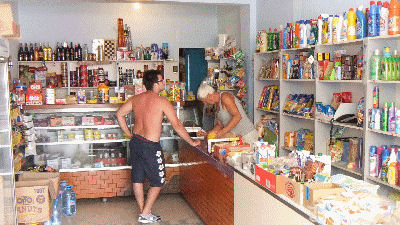 Grocery Store in Himara