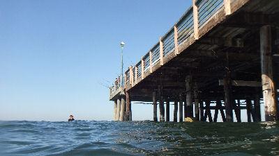 Under Redondo Pier