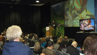 Lectures at the Travel Show