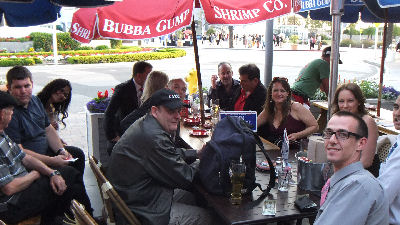 Meeting at Bubba Gumps