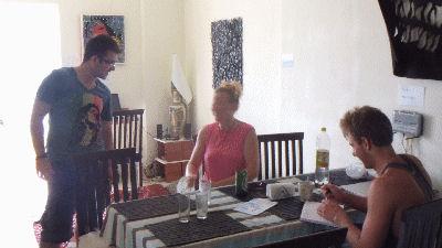 The Irish Youth Hostel in Saranda, Albania.