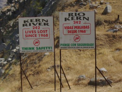 The Kern River Death Count remained unchanged at 242.