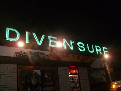 On opening night, Dive N Surf is open all morning long for this event.