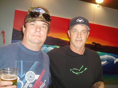 Me with the famous Robert Wyland.
