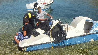 Albanian Boat Diving