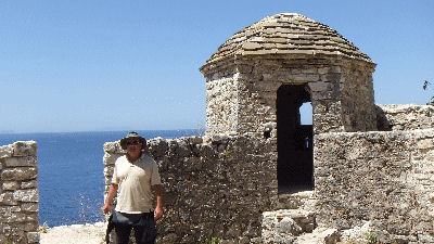 Me on Ali Pasha Tepelena Castle.