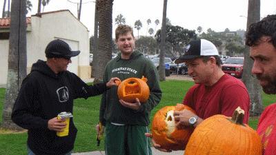 Pumpkin carve winner