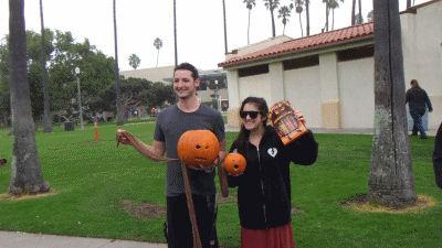 Underwater Pumpkin Carving Winners
