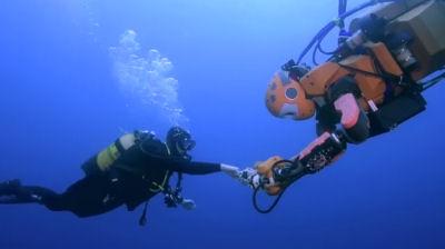 SCUBA Diving Robot