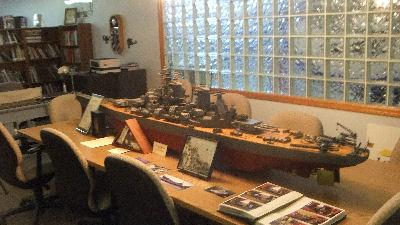 Battleship Iowa Model