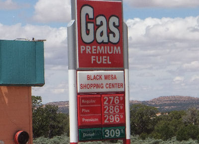 Gas prices in Arizona