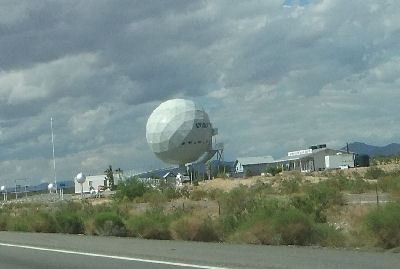 World's biggest golf ball.