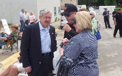 Iowa Governor Branstad