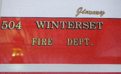 Winterset Fire Dept.